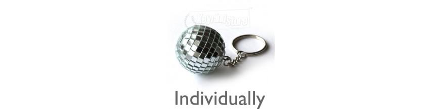 Disco Ball Keyrings - Individual