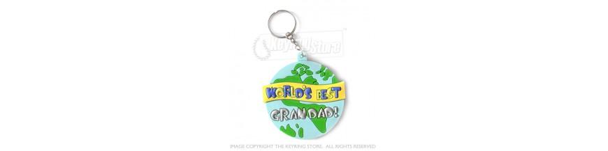 Grandad Keyrings