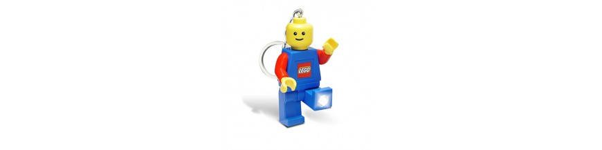 Lego Torch Keyrings