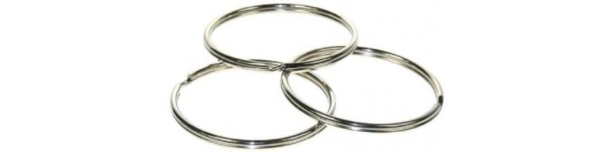 Nickel-plated Split Rings