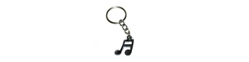 Music & Note Keyrings