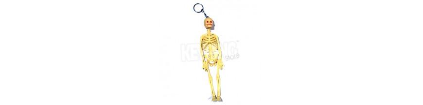 Big Skeleton Keyrings