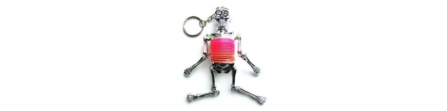 Springy Skeleton Keyrings