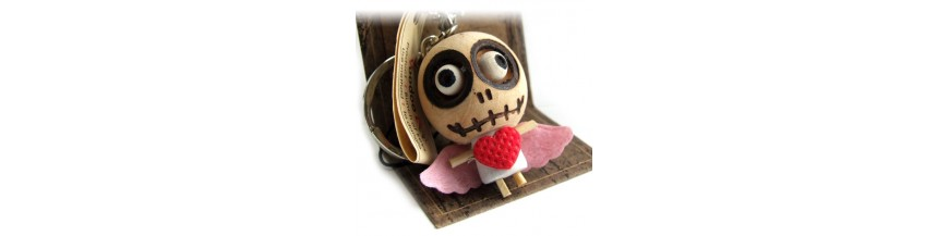 Voodoo Doll Keyrings