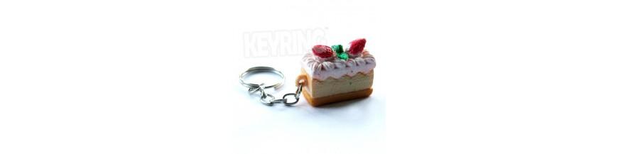 Cake Keyrings