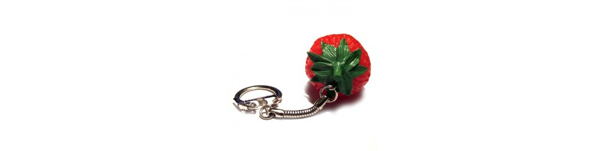Strawberry Keyrings