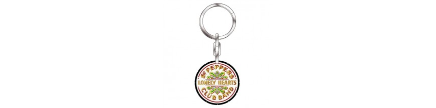 Beatles Keyrings