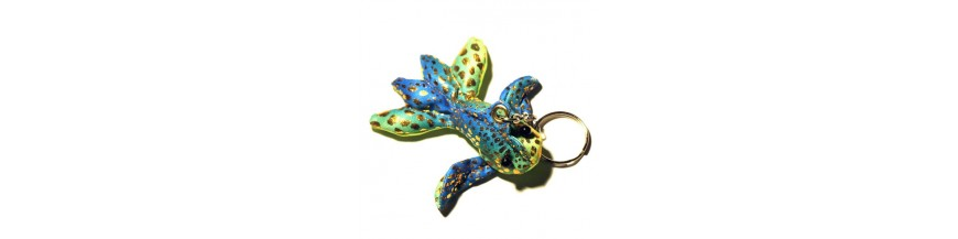 Fish Sand Keyrings