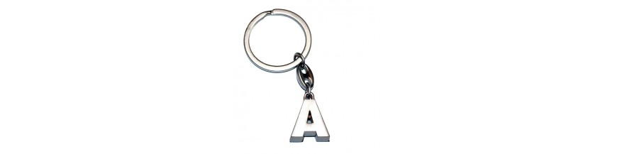 Metal Letter Keyrings