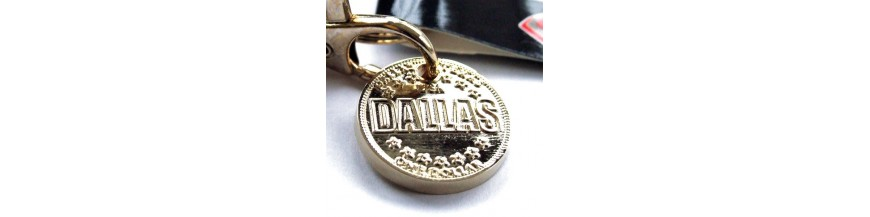 Dallas Keyrings