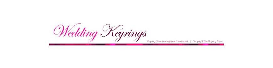Wedding Favour Keyrings