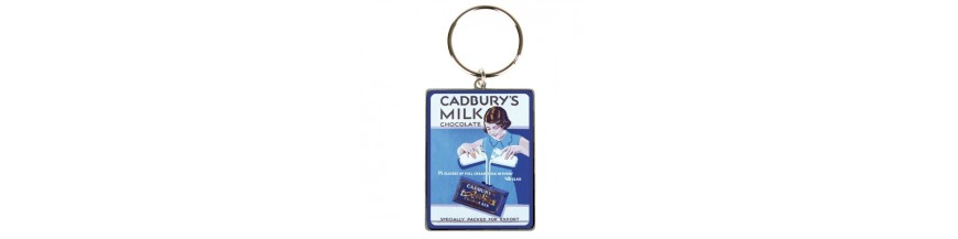 Food Advert Keyrings