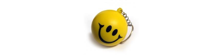 Smiley Keyrings