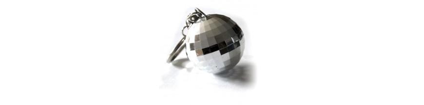 Disco Ball Keyrings