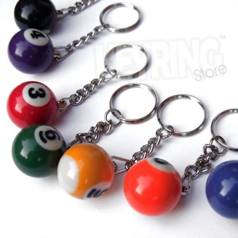Snooker / Pool ball keyring