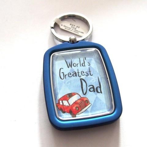 Dad Keyring