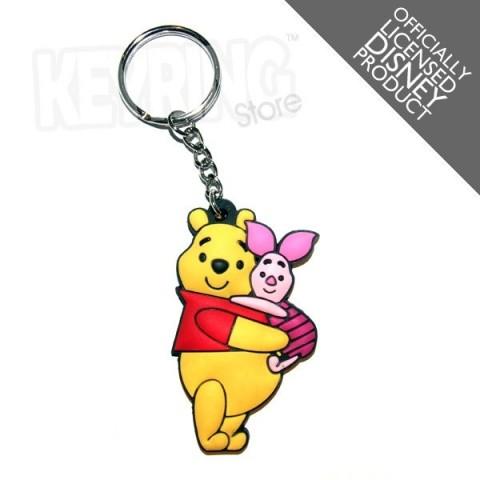 Disney Winnie The Pooh & Piglet Keyring