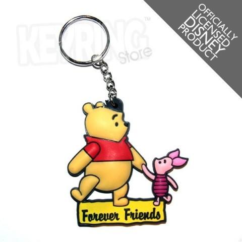 Disney Winnie The Pooh Forever Friends Keyring