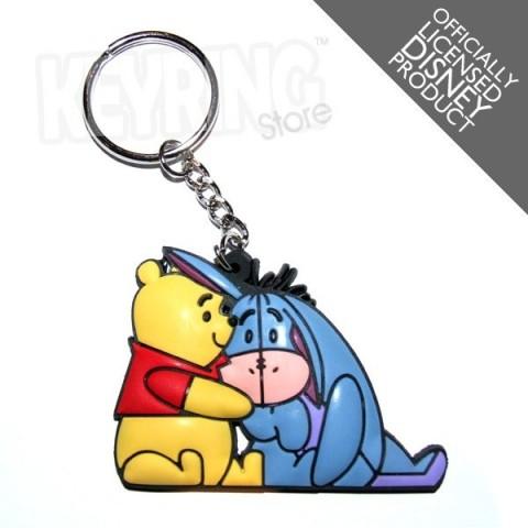 Disney Pooh & Eeyore Keyring