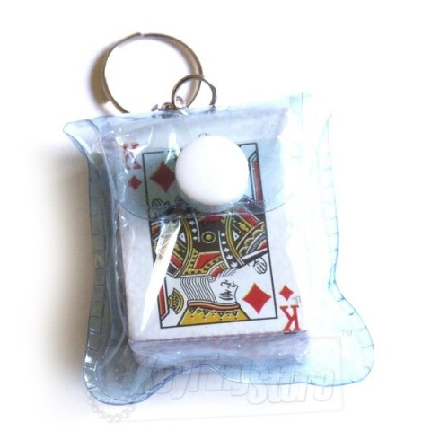 Playing Cards Keyring