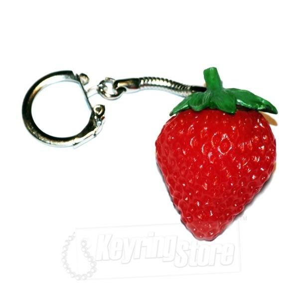 Strawberry Keyring - The Keyring Store 744cffb4f