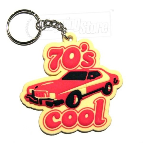 70s Cool Seventies Keyring
