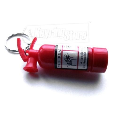 Fire Extinguisher shape LED torch keyring