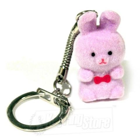 Bunny Felt Animal Keyring