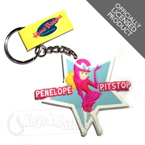 Penelope Pitstop Keyring