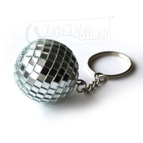 Ultimate Mirror Glitter Disco ball keyrings