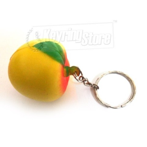 Apricot Keyring - Great Quality!