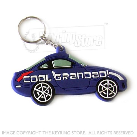 Cool Grandad Car keyring