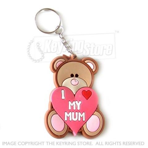 Love my mum keyring