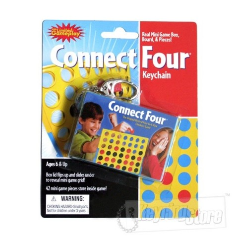 Connect Four Keyring