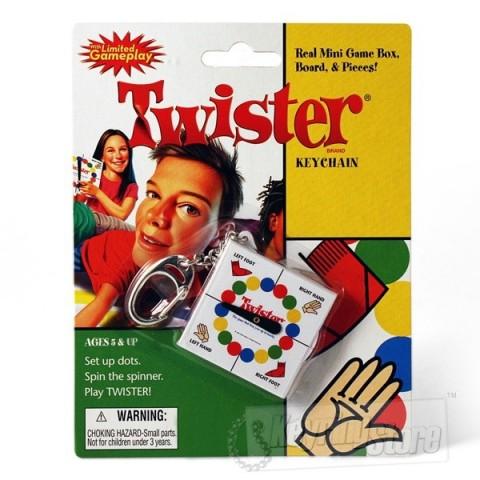Twister Keyring