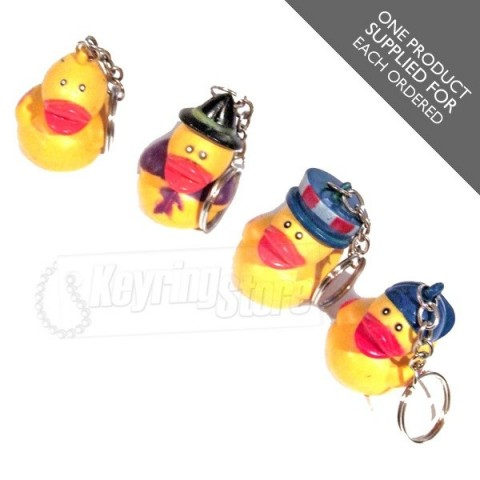 Yellow Duck Keyring