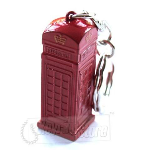 Red Phone Box Keyring