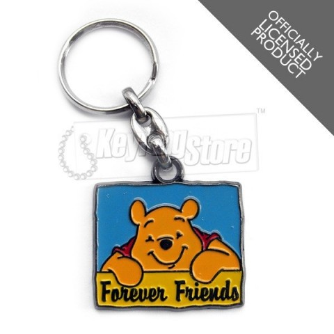 Forever Friends Winnie The Pooh Keyring