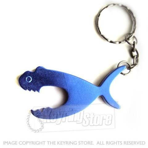 Hungry Shark Bottle Opener Keyring