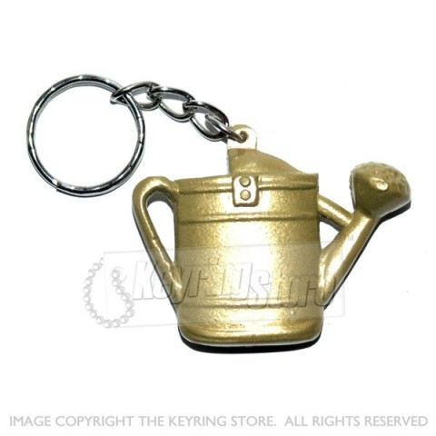 Watering Can Keyring (Gold Colour) - Premium
