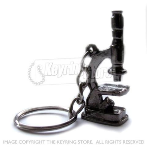 Microscope Keyring