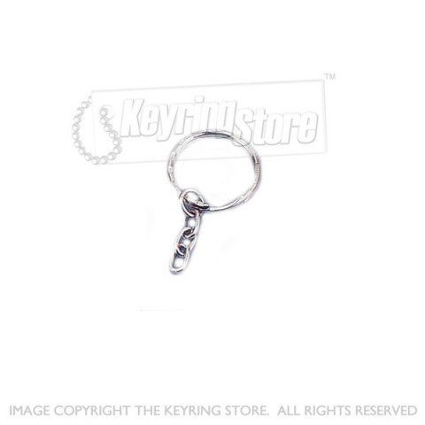 Keychain & Split Ring - Pack 10