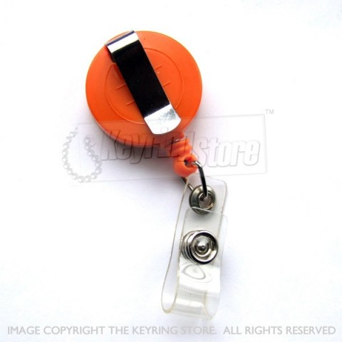 Retractable Mini Recoil Belt Clip Keyring