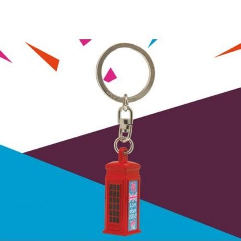 London 2012 Red Telephone Box Keyring
