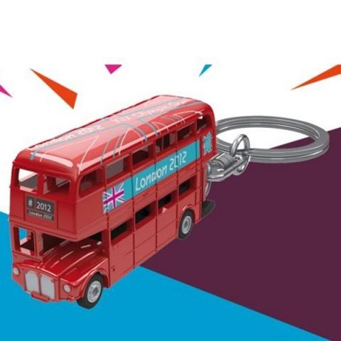 London 2012 Red Bus Keyring