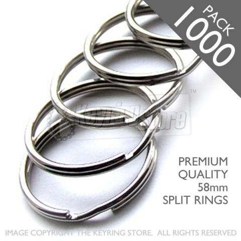 58mm Split Rings PACK 1000