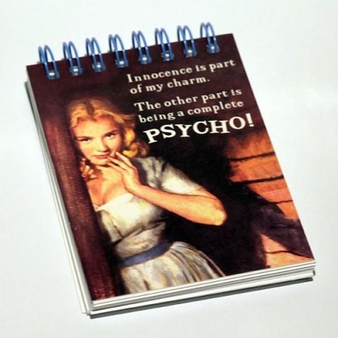 Mini Notepad Psycho