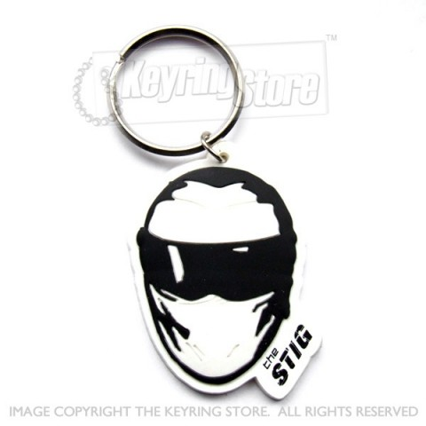 The Stig Top Gear Keyring