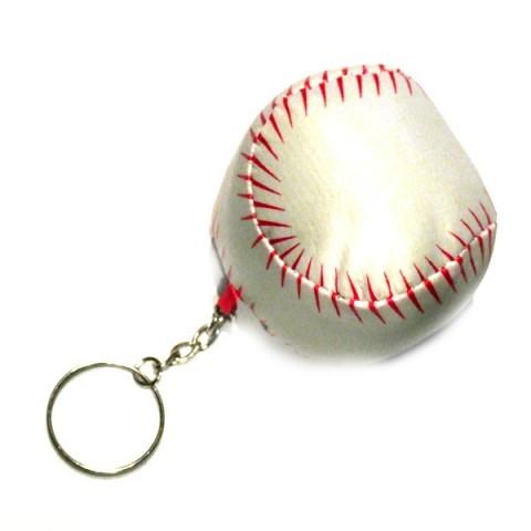 Stress Base Ball Keyring
