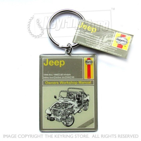 Jeep Keyring - Officially Licensed